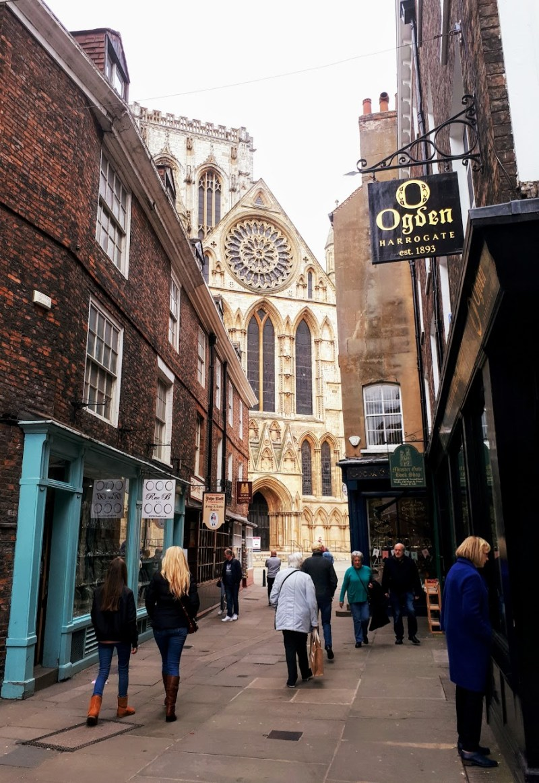 Jewelry shop - a luxury weekend in York