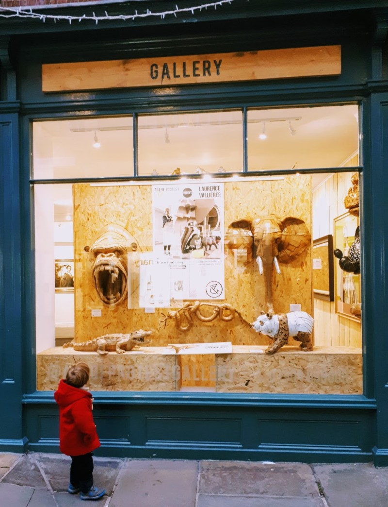 quirky art gallery in york