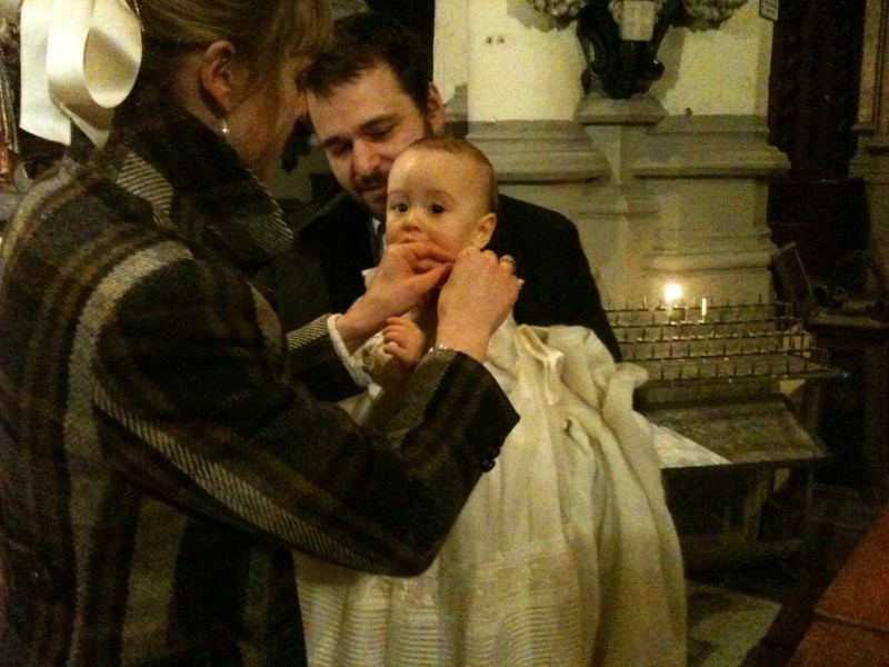 Baptism for atheist Catholic expatriate parents