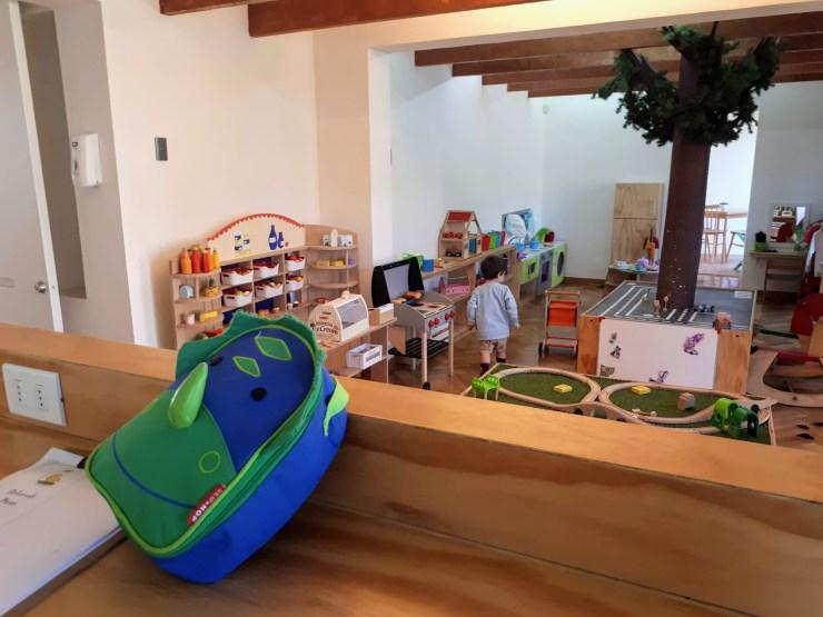 Cafe for kids in Santiago