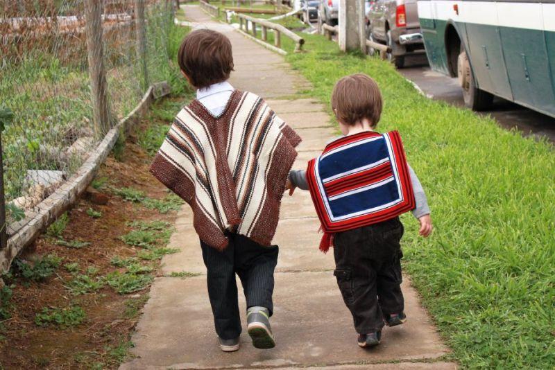 Expat children in Santiago de Chile
