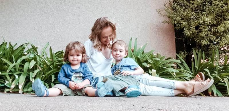 familia de expatriados en Santiago de Chile