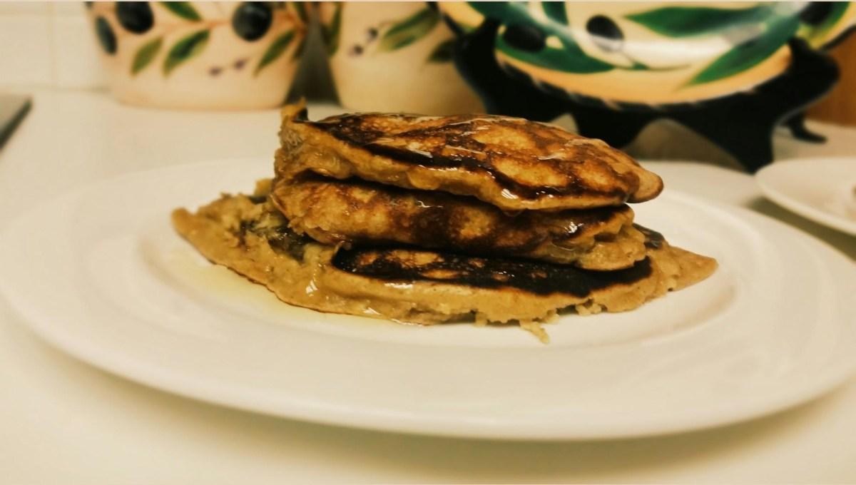 Peanut Butter Banana Pancakes - Gluten free