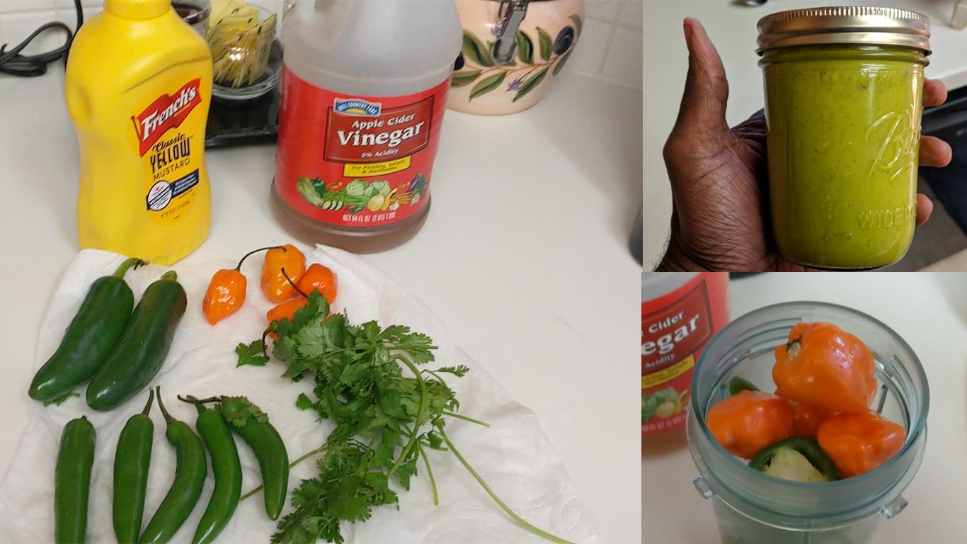 Panamanian Hot Pepper Sauce: Habanero, Jalapeno, Serrano plus spices