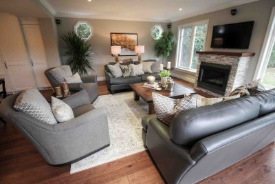 Clarkson Living Room by The Expert Touch Interior Design