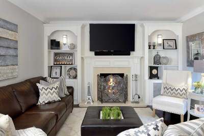 Pleasant View Family Room by The Expert Touch Interior Design