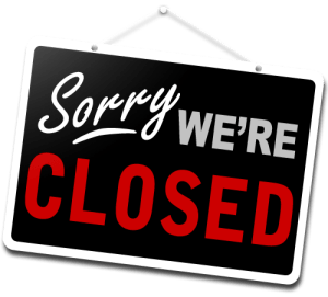 Image result for closed for business
