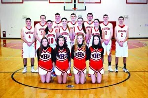 BBall Senior Boys, Girls and Cheerleaders 2016