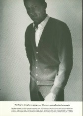Hadley 1964- Creepy Cardigan Ad