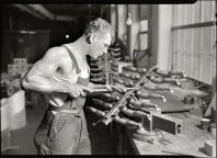 LEWIS HINE- 1936- MOUNT HOLYOKE MASS