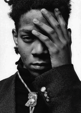 EOF STYLE IDOL JEAN-MICHEL BASQUIAT - THE TIME IS NOW - THE EYE OF FAITH VINTAGE
