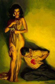 FEMME FATALE to the MAX- HOLLYWOOD BABYLON- THE EYE OF FAITH