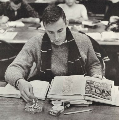 School Daze AND Cigarettes- Vintage Snapshot- MALE STYLE ICON TO THE MAX- MENS FALL INSPIRATION- THE EYE OF FAITH VINTAGE- SWEATER WEATHER 1