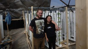 Left to Right: Ben Canning and Stefany Nieto, co-founders of Growing North. PHOTO COURTESY: STEFANY NIETO