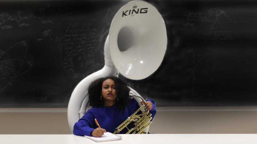 Music is a great hobby. PHOTO: SARAH KRICHEL