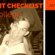 Parent Checklist For College: Junior Year