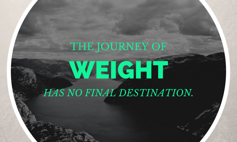 image - the journey of weight has no destination