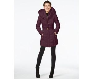 Kensie Puffer Coat, Macy's