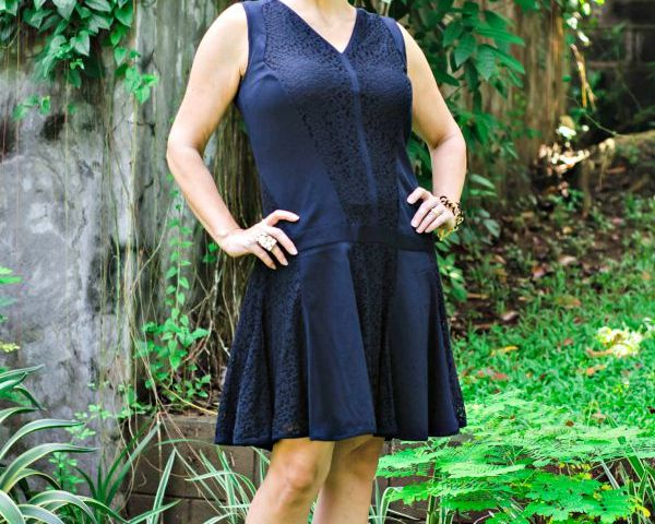 Vintage Inspired Black Dress.fashion over 40