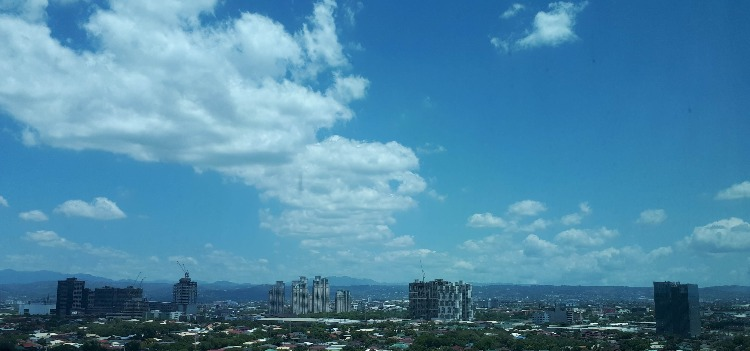 Manila blue sky - Choose Joy
