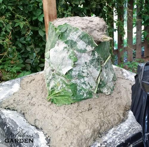 cement blob
