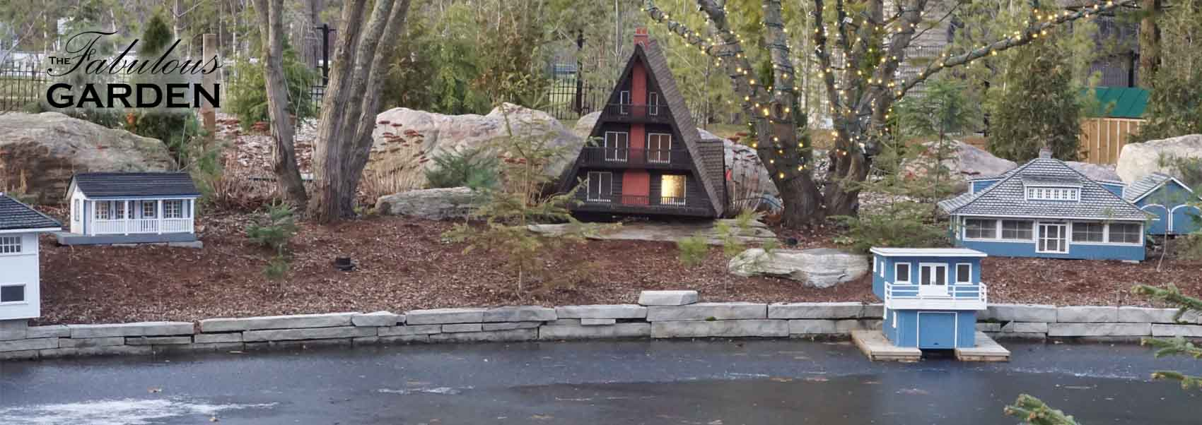 Visit to a miniature village in Niagara