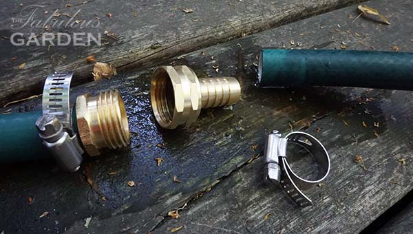 How to fix a leaking hose