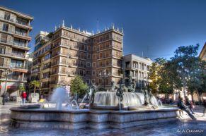 Fuente Plaza de la Virgen