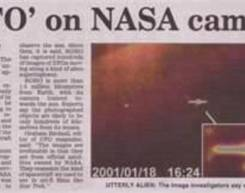 NEWSPAPER CLIPPINGS of ufo stories (28)