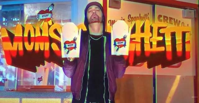 "Eminem is opening a spaghetti restaurant called ""Mom's Spaghetti"" 1"