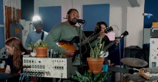 Watch Bartees Strange's NPR Tiny Desk Concert 1