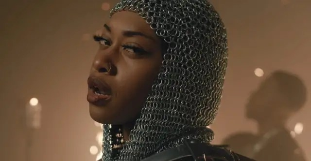 """Irish rapper Denise Chaila lives a medieval fantasy in her """"Anseo"""" video 1"""