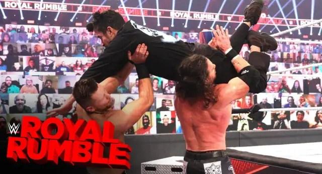 Watch Bad Bunny make his WWE Royal Rumble debut 1