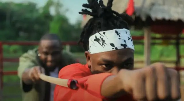 """Watch Davido and Mayorkun interpolate The Karate Kid in their new video for """"The Best"""" 1"""