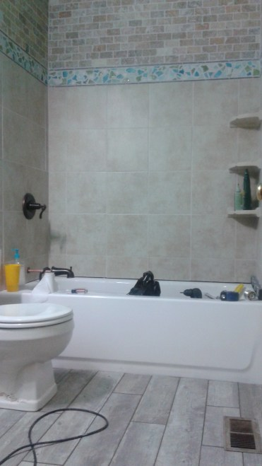 The grout which nearly cost me my sanity, and actually cost me my dignity.