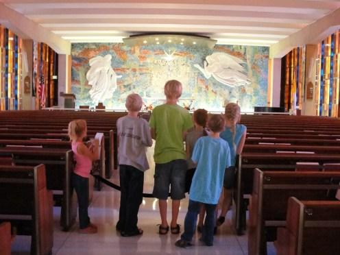 Catholic Chapel - small and beautiful.