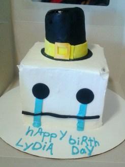 Hatty Hattington cake.
