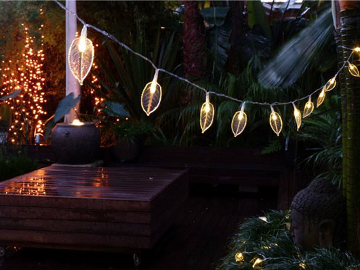 Clear String Lights Outdoor