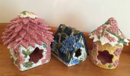 Ceramic Fairy Houses for Sale
