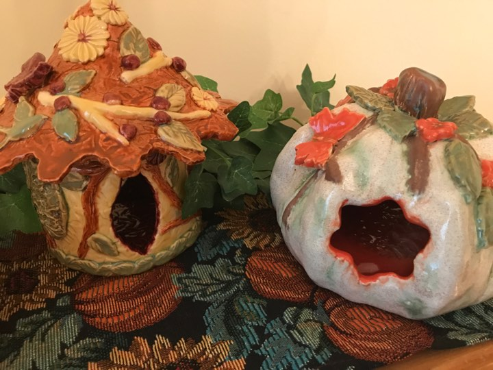 Autumn 2017 Fairy Houses
