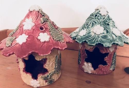 Snowflake Winter Fairy House 2018