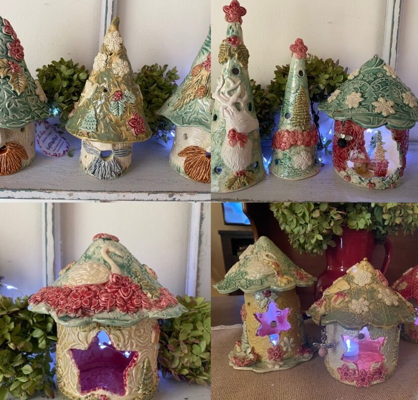 Christmas Fairy Homes from The Fairy Potter