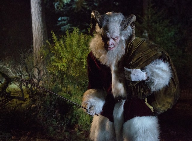 Krampus maling its way into the mainstream here in the states. As seen in the 2013 Grimm Christmas season.