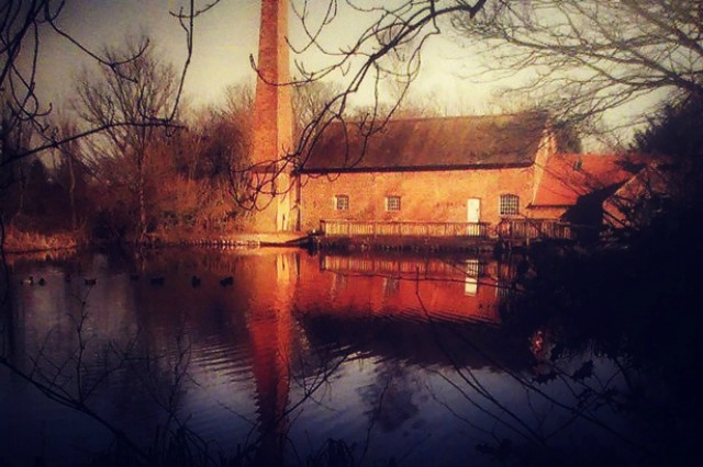 Sarehole Mill by middleearthnews.com edited by Christa Thompson