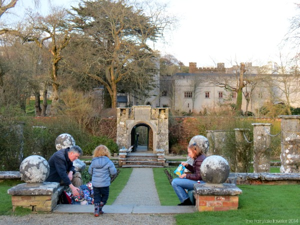 The Victorian Walled Gardens are a great place to relax and enjoy the day.