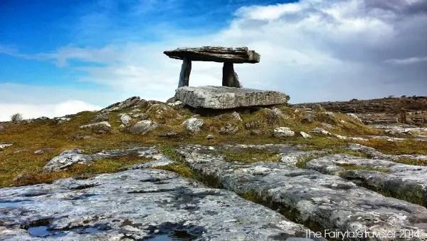 The Poulnabrone Dolmen in the Burren
