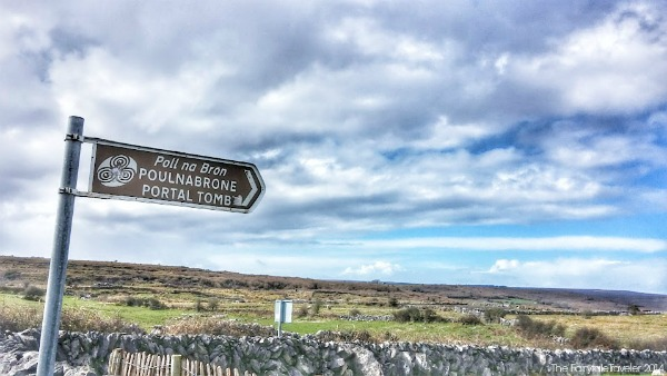 The Burren is a vast sea of confusing and irregular limestone formations wrapped with ancient man made stone walls. There are so many ring forts here (thought to be where fairies live) that you can just count them as you pass along.
