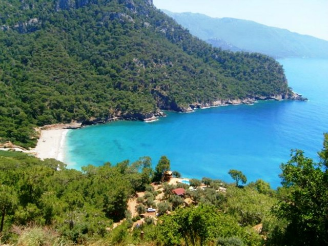 Kabak Bay from one of the bungalows.