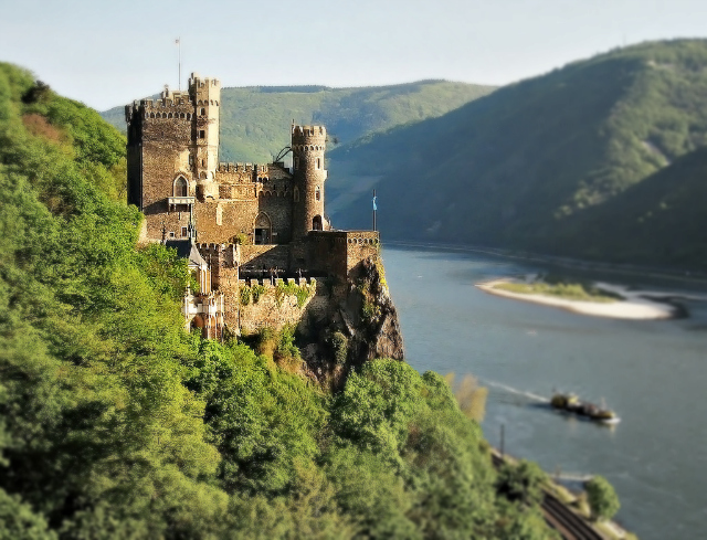 Along the Rhine Gorge, Rheinstein Castle