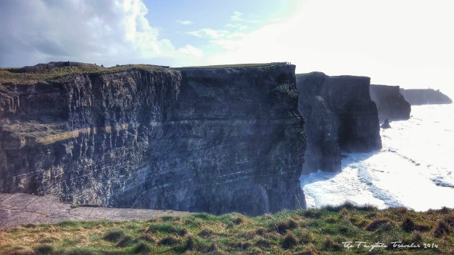 A view of the Cliffs of Moher from the park.
